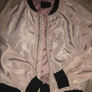 Jackets & Blazers - Light pink bomber jacket OFFERS ARE OPEN😻❣️❣️❣️